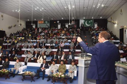 PM AJK Attends One day National Seminar